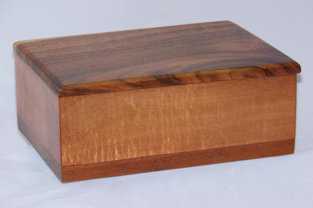 Solid Koa Wood Treasure Boxes Made On The Big Island Of Hawaii